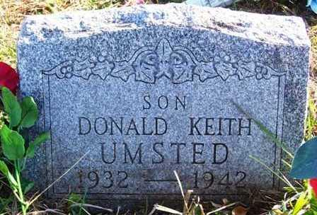 UMSTED, DONALD KEITH - Madison County, Iowa | DONALD KEITH UMSTED