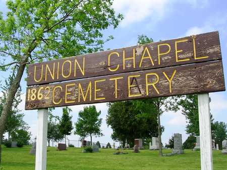 UNION CHAPEL - JEFFERSON TWP., CEMETERY - Madison County, Iowa | CEMETERY UNION CHAPEL - JEFFERSON TWP.