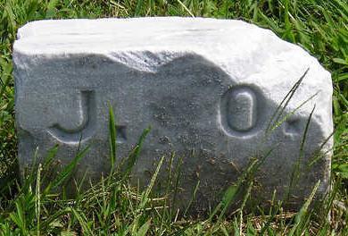 UNKNOWN, J. O. - Madison County, Iowa | J. O. UNKNOWN