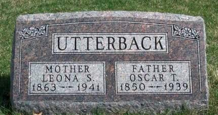 UTTERBACK, OSCAR TERHUNE - Madison County, Iowa | OSCAR TERHUNE UTTERBACK