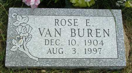 BROOKER VAN BUREN, ROSE ELLEN - Madison County, Iowa | ROSE ELLEN BROOKER VAN BUREN