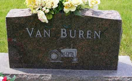 VANBUREN, FAMILY HEADSTONE - Madison County, Iowa | FAMILY HEADSTONE VANBUREN