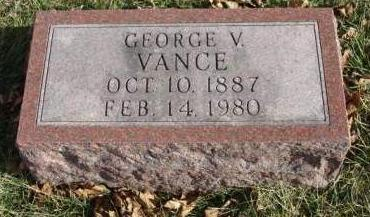 VANCE, GEORGE VINCENT - Madison County, Iowa | GEORGE VINCENT VANCE