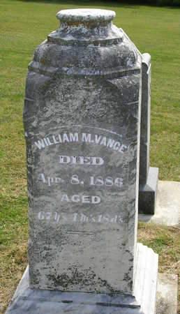 VANCE, WILLIAM M. - Madison County, Iowa | WILLIAM M. VANCE