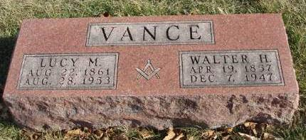 VANCE, WALTER H. - Madison County, Iowa | WALTER H. VANCE