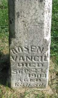 VANCIL, ROSENA - Madison County, Iowa | ROSENA VANCIL