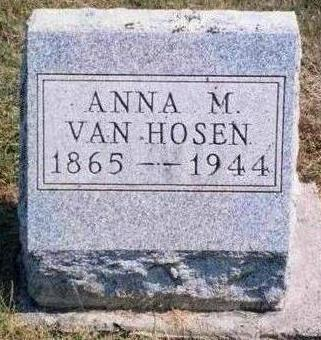 HILLERMAN VANHOSEN, ANNA MAY - Madison County, Iowa | ANNA MAY HILLERMAN VANHOSEN