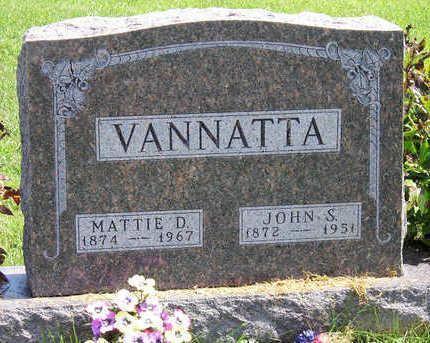 VANNATTA, JOHN STRAWN - Madison County, Iowa | JOHN STRAWN VANNATTA