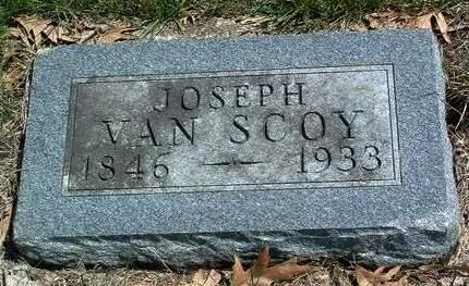 VAN SCOY, JOSEPH - Madison County, Iowa | JOSEPH VAN SCOY