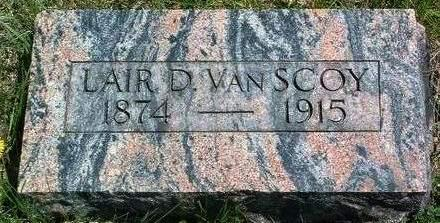 VAN SCOY, LAIR D. - Madison County, Iowa | LAIR D. VAN SCOY