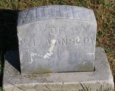 VAN SCOY, MOTHER OF E.L. - Madison County, Iowa | MOTHER OF E.L. VAN SCOY