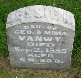 VANWY, JESSIE M. - Madison County, Iowa | JESSIE M. VANWY
