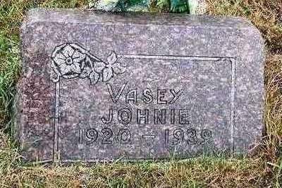 VASEY, JOHN (JOHNIE) - Madison County, Iowa | JOHN (JOHNIE) VASEY