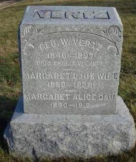 WHITE VERTZ, MARGARET CATHERINE - Madison County, Iowa | MARGARET CATHERINE WHITE VERTZ