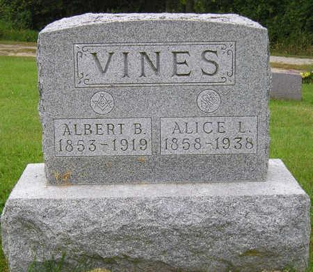 VINES, ALICE LEOTA - Madison County, Iowa | ALICE LEOTA VINES