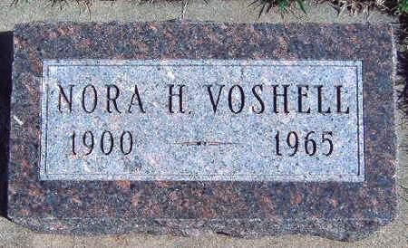 VOSHELL, NORA H. - Madison County, Iowa | NORA H. VOSHELL