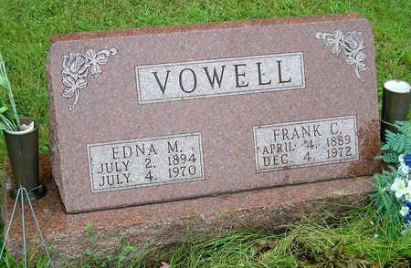 VOWELL, FRANK CALLEY - Madison County, Iowa | FRANK CALLEY VOWELL