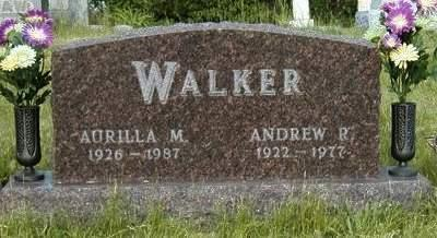 RUDD WALKER, AURILLA MAY - Madison County, Iowa | AURILLA MAY RUDD WALKER
