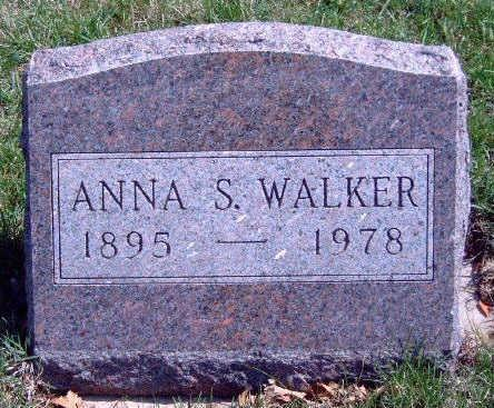 STONE WALKER, ANNA S - Madison County, Iowa | ANNA S STONE WALKER