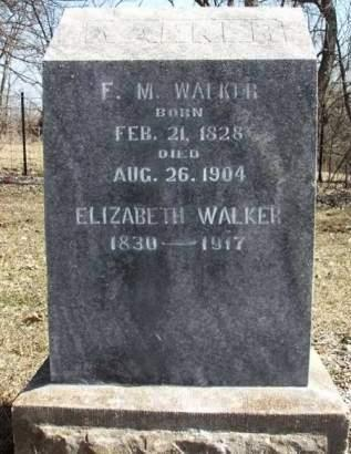 WALKER, ELIZABETH - Madison County, Iowa | ELIZABETH WALKER