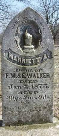 WALKER, HARRIET A. (HATTIE) - Madison County, Iowa | HARRIET A. (HATTIE) WALKER