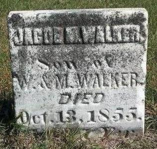 WALKER, JACOB M. - Madison County, Iowa | JACOB M. WALKER