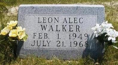 WALKER, LEON ALEC - Madison County, Iowa | LEON ALEC WALKER