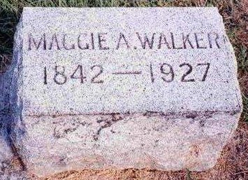 MILLS WALKER, MARGARET ANN (MAGGIE) - Madison County, Iowa | MARGARET ANN (MAGGIE) MILLS WALKER