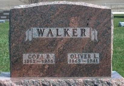 BAGLEY WALKER, CORA BLANCHE - Madison County, Iowa | CORA BLANCHE BAGLEY WALKER
