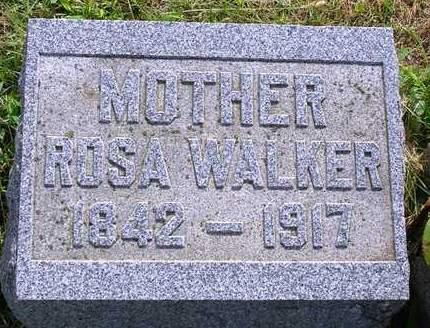 BARROW WALKER, ROSINA PRIMROSE (ROSA) - Madison County, Iowa | ROSINA PRIMROSE (ROSA) BARROW WALKER