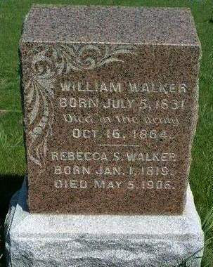 WALKER, WILLIAM M. - Madison County, Iowa | WILLIAM M. WALKER