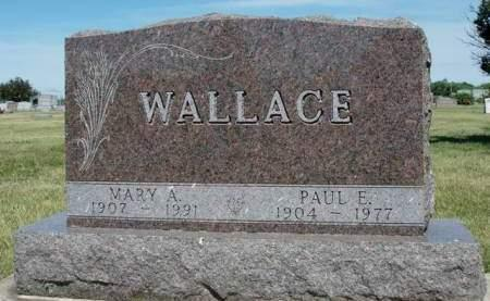 WALLACE, PAUL E - Madison County, Iowa | PAUL E WALLACE