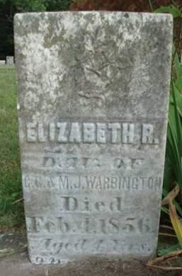 WARBINGTON, ELIZABETH R. - Madison County, Iowa | ELIZABETH R. WARBINGTON