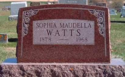 FIRKINS WATTS, SOPHIA MAUDELLA - Madison County, Iowa | SOPHIA MAUDELLA FIRKINS WATTS