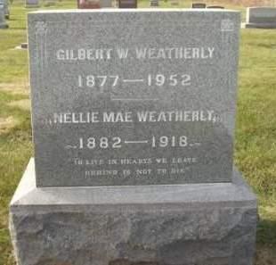 WEATHERLY, GILBERT WINFIELD - Madison County, Iowa | GILBERT WINFIELD WEATHERLY