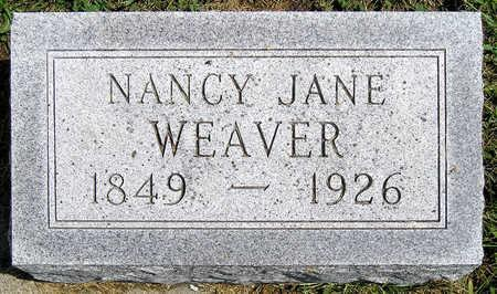 PORTER WEAVER, NANCY JANE - Madison County, Iowa | NANCY JANE PORTER WEAVER