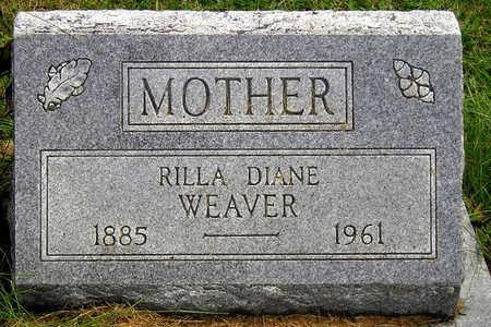 BROWN WEAVER, RILLA DIANE - Madison County, Iowa | RILLA DIANE BROWN WEAVER