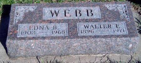 COUNTRYMAN WEBB, EDNA BLANCHE - Madison County, Iowa | EDNA BLANCHE COUNTRYMAN WEBB