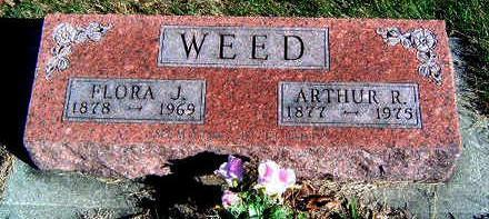 WEED, ARTHUR R. - Madison County, Iowa | ARTHUR R. WEED