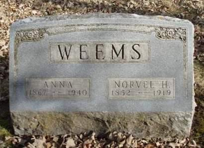 WEEMS, NORVEL H. - Madison County, Iowa | NORVEL H. WEEMS