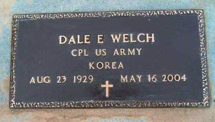 WELCH, DALE EARNEST - Madison County, Iowa | DALE EARNEST WELCH