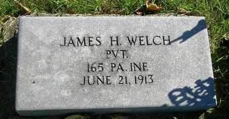 WELCH, JAMES HENRY - Madison County, Iowa   JAMES HENRY WELCH