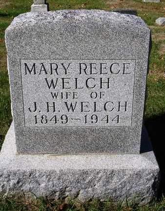 REECE WELCH, MARY - Madison County, Iowa | MARY REECE WELCH