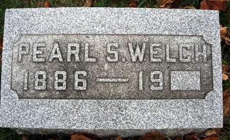WELCH, PEARL SAMUEL - Madison County, Iowa   PEARL SAMUEL WELCH