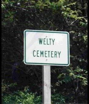 WELTY, CEMETERY - Madison County, Iowa | CEMETERY WELTY