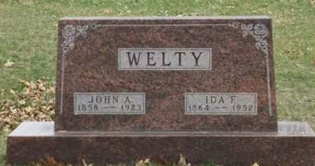 WELTY, JOHN ADAMS - Madison County, Iowa | JOHN ADAMS WELTY