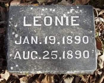 WELTY, LEONIE - Madison County, Iowa | LEONIE WELTY