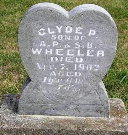 WHEELER, CLYDE PARKER - Madison County, Iowa   CLYDE PARKER WHEELER