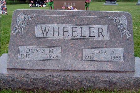 WHEELER, DORIS MILDRED - Madison County, Iowa | DORIS MILDRED WHEELER