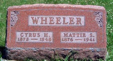 MOBLEY WHEELER, MARTHA SELENA 'MATTIE' - Madison County, Iowa | MARTHA SELENA 'MATTIE' MOBLEY WHEELER